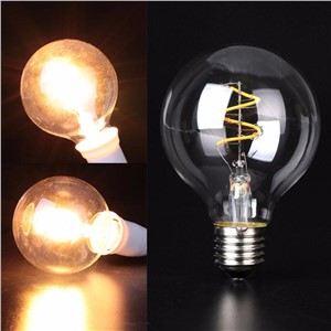 Mabor E27 COB 2200K LED Vintage Edison Lamp Filament Light Bulbs 110/220V Warm White