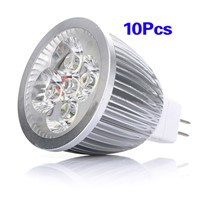 10x MR16 5W LED Cool White Energy Saving Spotlight Down Light Lamp Bulb 12V