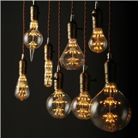 Antique Vintage Retro Edison Light Bulbs 220V E27 3W Incandescent Light Bulbs