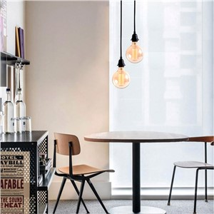 Homestia E27 40W 60W filament lamp G125 vintage Edison bulb Retro lamp 110/ 220V lights lampada  incandescent bulb