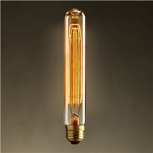 Vintage Edison Bulbs 40W Incandescent Clear Glass Squirrel Cage E27 base Filament light Bulbs for Home