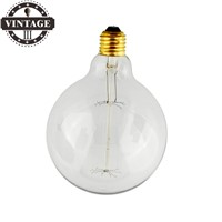 Lightinbox Vintage Vetro Tungsten Filament E27 Globe Edison Light Clear Bulb Lamp Incandescent Replacement 220V G125