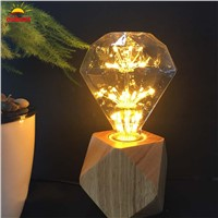 G95 E27 220V 3W Diamond Edison Bulb Antique Vintage Lamp light Incandescent Bulb Edison Light Fashion Incandescent Edison Bulb