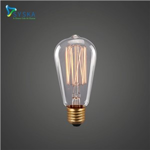 3pcs/Lot Cheap Pendant Lamps ST64 Vintage Edison Bulb E27 40W 220-240V Antique Incandescent Bulb Holiday Lights Lamp|201733