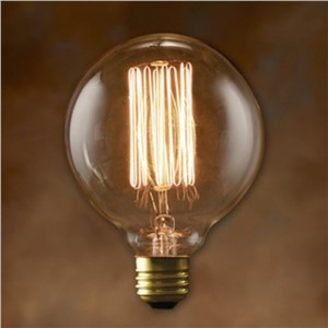 Antique Retro Vintage Edison Bulbs E27 Incandescent Light Bulbs G125 Squirrel-cage Decorative Filament Bulb Edison Light