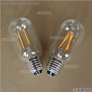 2pcs 2/4W LED Bombilla Edison Bulb Lamp Bombillas Vintage Bulb Light Edison Ampoules Decoratives T45 C35