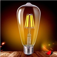 Lumiparty Edison Bulb E27 20/40/60/80W 220V ST64 Retro Lamp Ampoule Vintage light bulb Incandescent bulb Edison Pendant Lamp
