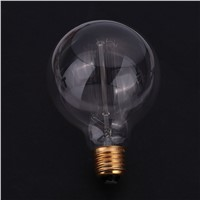 Dimmable Vintage G95 Edison Incandescent Bulb Filament Lamp Light Household Home