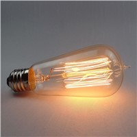 Vintage Edison Bulbs 220V E27/110V Incandescent Bulbs 40W Filament Retro Edison Light For Pendant Lamp