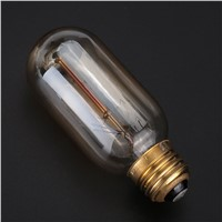Dimmable Vintage ST45 Edison Incandescent Bulb Filament Lamp Light 40W Household
