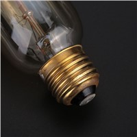 Dimmable ST45 Edison Incandescent Bulb Filament Lamp Bright Light Household