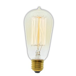 Edison vintage bulb ST58 E27 40W Retro Edison Light Bulb AC 220-240V  40w new type Incandescent Bulbs
