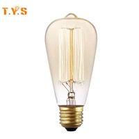 ST64 Retro Edison Filament Ampoule E27 220v for Decor Home lighting 40W 60W Vintage Incandescent Bombillos Bulb Lamp Lights