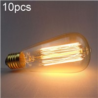 lightinbox 10pcs  ST64 AC Vintage Edison Bulbs Incandescent Lamp Decor Light Bulb Wholesale Vintage Edison Bulb Light Lamp