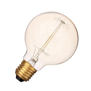 LightInBox Globe Bulb Industrial Vintage Globe Edison Vintage Lamp Light Bulb 220V Top Quality E27 40W G80 Incandescent Bulb