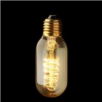 Lightinbox Vintage light bulb 60W - quad loop filament (old fashioned Edison) E27 screw