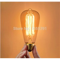 Lightinbox Vintage Incandescent Bulb Globe Retro Edison Light Bulb