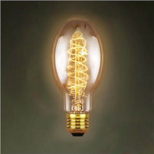 LightInBox AC 220V Incandescant Light Bulb For Living Room Bedroom  High-end Decorative Lighting E27 C75 40W Edison Bulb