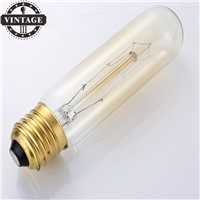 LightInBox 40W 220V T10 Retro Edison lamps Light Bulb 4 piece Wholesale Price Retro Edison Lights E27 Incandescent Vintage Bulb