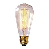 LightInBox Edison Filament Lamp Bulb E27 110V 220V Miniature Antique Bulb Edison Bombilla Vintage Edison Incandescent Light Bulb