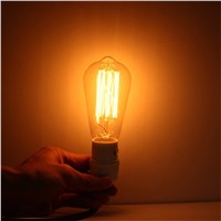 Lightinbox  screw Vintage Light Bulb Retro filament old fashioned Edison Incandescent Squirrel Cage