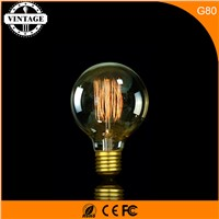 LightInBox  G80 Globe Edison Industrial Style Lamp Bulb Tungsten BulbLight E27 40W Incandescent Bulbs Filament Light