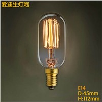 Lightinbox  straight wire Vintage Antique Retro Style Lighting Filament Edison Lamp Light Bulb decoration lighting