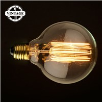 Lightinbox 40W 220V G95ST New Vintage Vetro Tungsten Filament E27 Globe Edison Light Clear Bulb Lamp