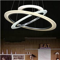 Ring circles  led pendant lights for dining living room Decorative attic lighting lamp lamparas modernas