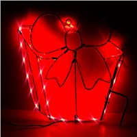 Neon Sign Light Bowknot Shaped Design Night Lamp Wall Light Coffee Bar Mural Crafts Neon Sign Room Home Decorations