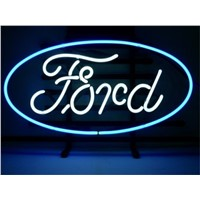 NEON SIGN For   FORD  Signboard REAL GLASS BEER BAR PUB  display Restaurant  outdoor Light Signs 17*14""