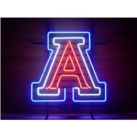 NEON SIGN For NEW ARIZONA WILDCATS  Signboard REAL GLASS BEER BAR PUB  display  christmas Light Signs 17*14""