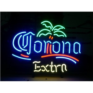 NEON SIGN For CORONA EXTRA Signboard REAL GLASS BEER BAR PUB  Billiards display  Restaurant  Shop christmas Light Signs 17*14""