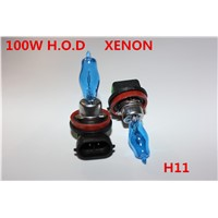 2 x H11 Xenon Halogen HOD Auto HeadLight Bulb Kit white 6000K /warm white 2900k  12V 100W Fog Lights Bulbs Parking Lamps