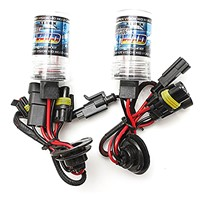 2 Stk.55W HID xenon lamp car bulb light lamp kit Headlight 12V DC 9005 / HB3 30000K