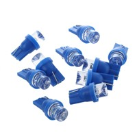 10x W5W LED nightlight bulb 158 168 194 T10 2825 Xenon blue ceiling effect