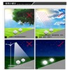 1PC Outdoor Solar LED Buried Lamps Glass Stone Grounding Sun Light Garden Lawn light Solar Powered Landscape Underground Lights