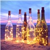 Wine Bottle Cork Fairy Led Lights Bottle Stopper LED String 2M Silver Wire String Lights Battery Powered Christmas Wedding Decor