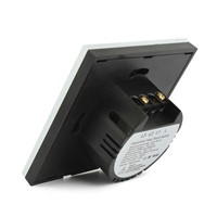 Manufacturers 2017 EU Standard  Wall Touch Switch  1 Gang 1 Way waterproof Wall Light led touch switch 220v-250V for lamp