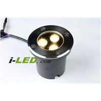 30p/lot10pcs/lot,3w AC85-265V underground light Buried lamp, Garden IP8 light outdoor lamp inground LED lamp