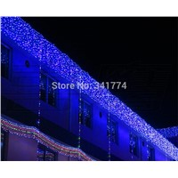 Fairy 10*0.65m LED lighting string Christma curtain garland chandelier holiday garden bar KTV luminaria outdoor lights