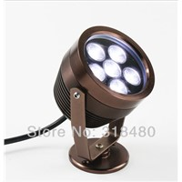 led underwater fountain light  outdoor flood  12v 6W spotlights pool patio lights  holiday garden yard light