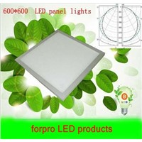 Wholesale5pcs 42W Square LED Panel Light 600*600 100-240V Warm White Cool White Parlour kitchen bath room corridor celling lamp