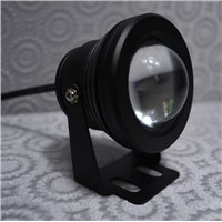 10W AC85 -265V Warm White Cool White LED Underwater Light Waterproof IP67 1000lm + Black / Silver Case + 2 Year Warranty