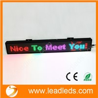 LLDP10-1696RGB RS232 port programmable full color SMD scrolling led advertising board