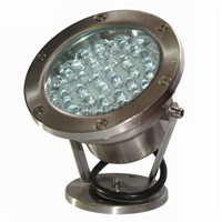 Modern Multi-Colors LED Fountain Underwater lamp High Power Stainless Steel Swimming Pool LED floodlight