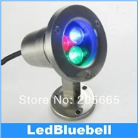 Outdoor Lamp 12V 3W LED Landscape light , underwater light , Waterproof IP68