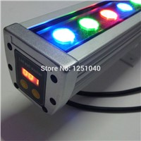 36W RGB LED Wall Washer 24V DMX512 Changeable Outdoor Buildings Contour lights IP65 Waterproof Floodlight Projector Light CE