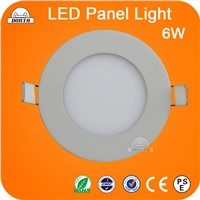 Slim 6W Round led Panel light painel de led DONTA factory-direct sale