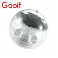 Solar Powered lamps Panel Self-Recharging Floating LED Ball for Garden Ponds Lawn lamps Landscape Yard LED night light